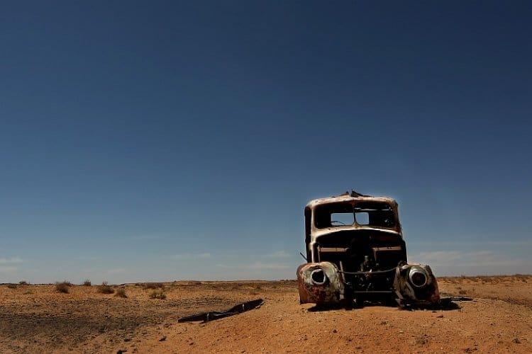 Sleeping Beauty im Outback II