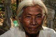Khmer Frau